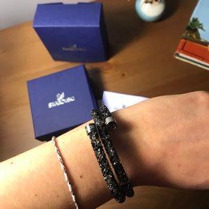 BNIB Swarovski Crystaldust Wrap Bracelet